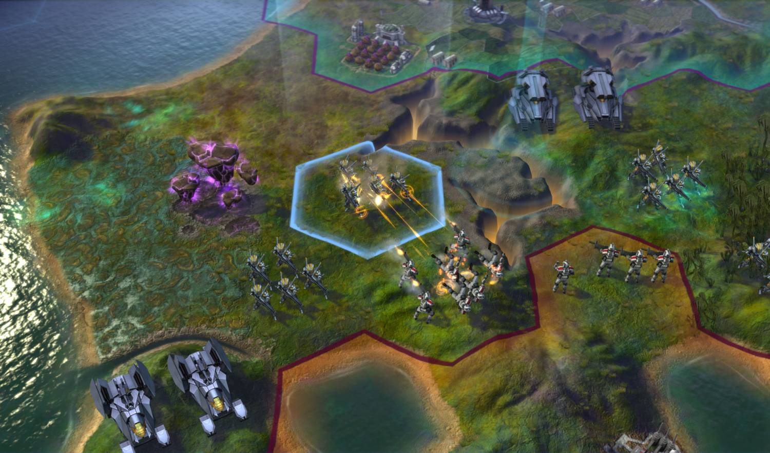 Скриншот Sid Meier's Civilization: Beyond Earth, обои