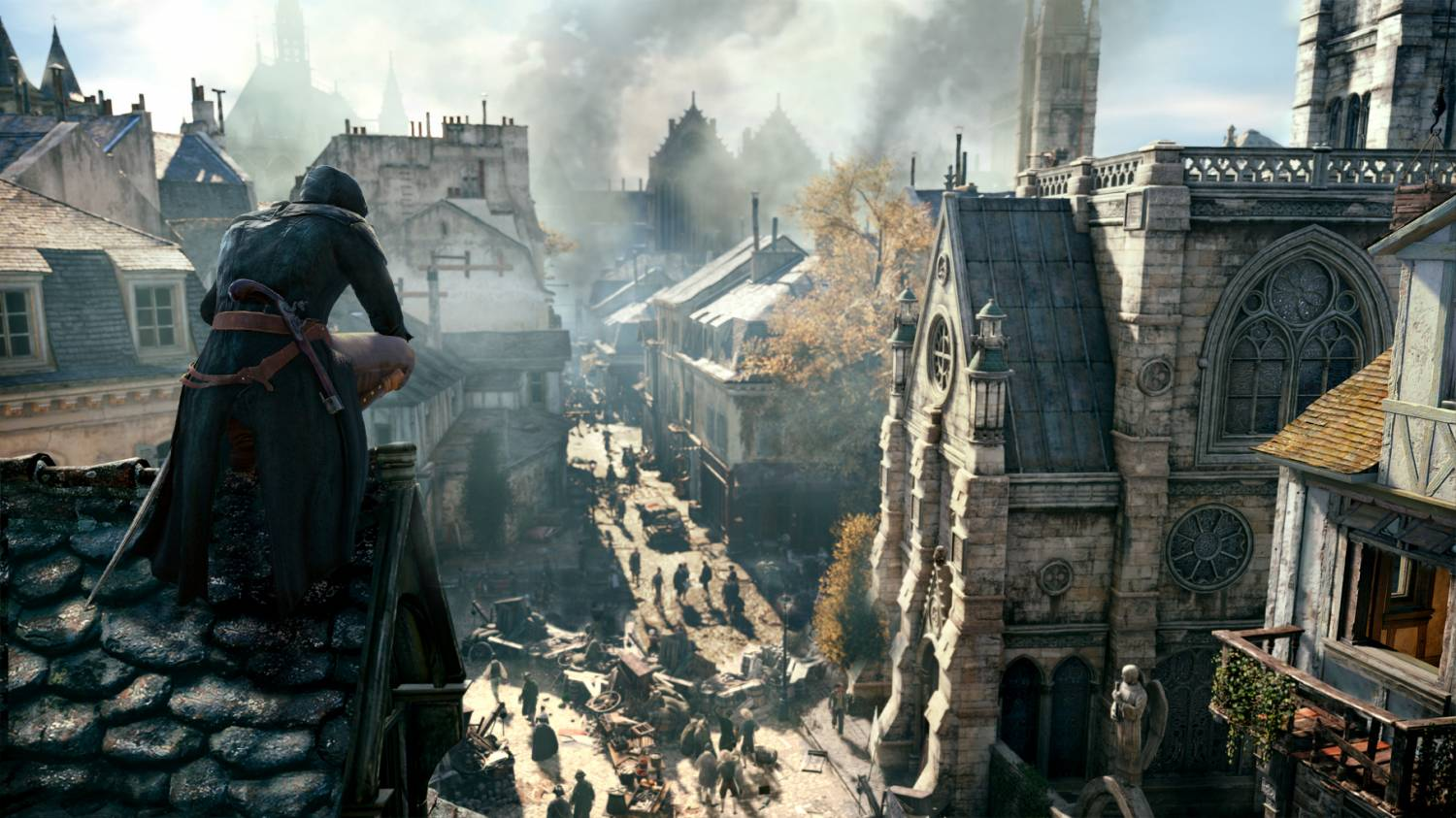 Скриншот Assassin's Creed: Unity, обои