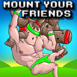 играть Mount Your Friends по сети